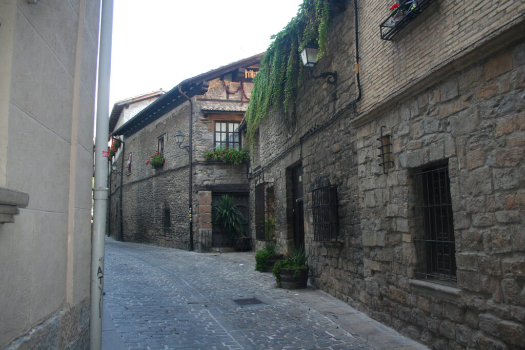 Gasse in Pamplona