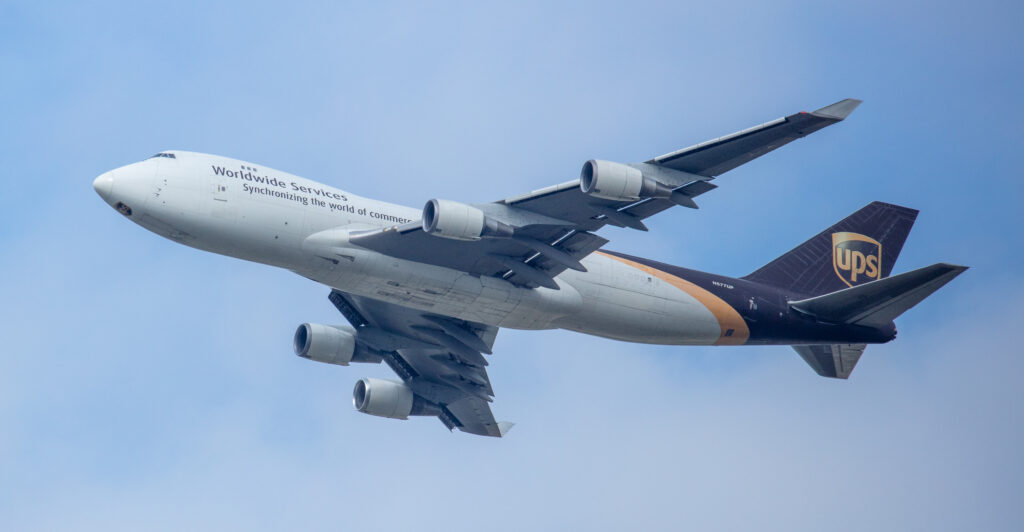 UPS Boeing 747-44A(F) N577UP