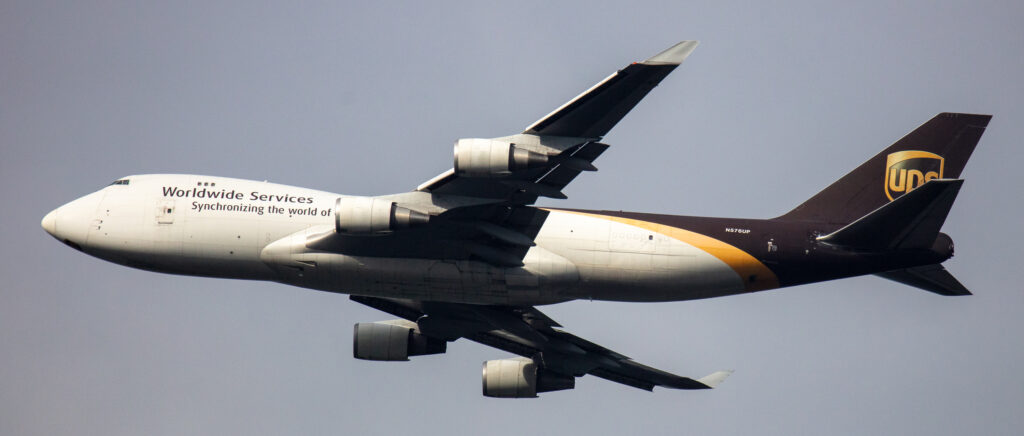 UPS Boeing 747-44A(F) N576UP